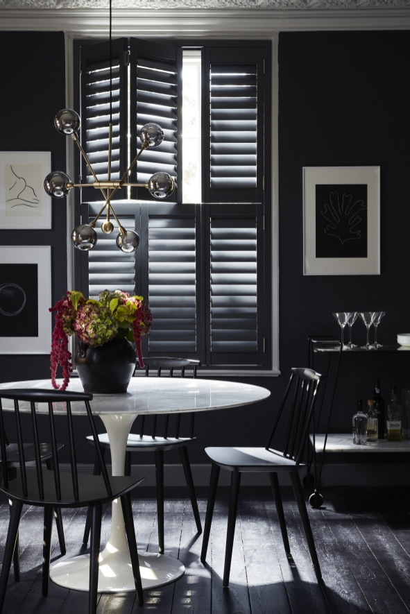 Shutters for city homes
