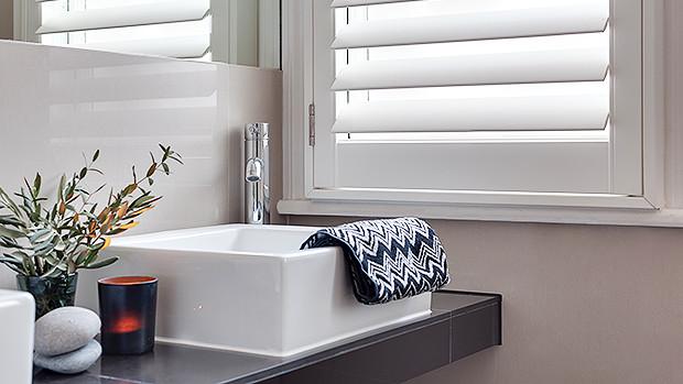 Bathroom Shutters Amp Wooden Window Treatments The Shutter
