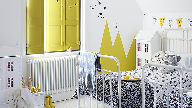 Children's bedroom shutters