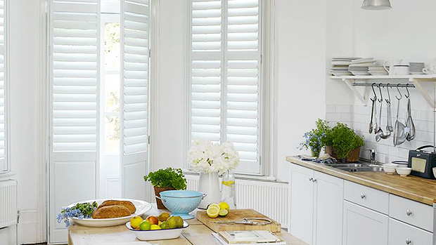 kitchen window shutters inside kitchen shutters window interior the shutter store