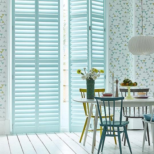 Full height shutters blinds for full length windows for Window height