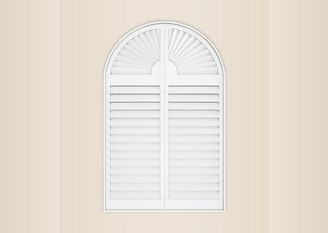 Special Shape Shutters Custom Window Shape The Shutter Store Usa