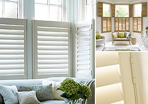 Plantation shutters wooden window shutters the shutter store browse our shop caf shutters solutioingenieria Gallery