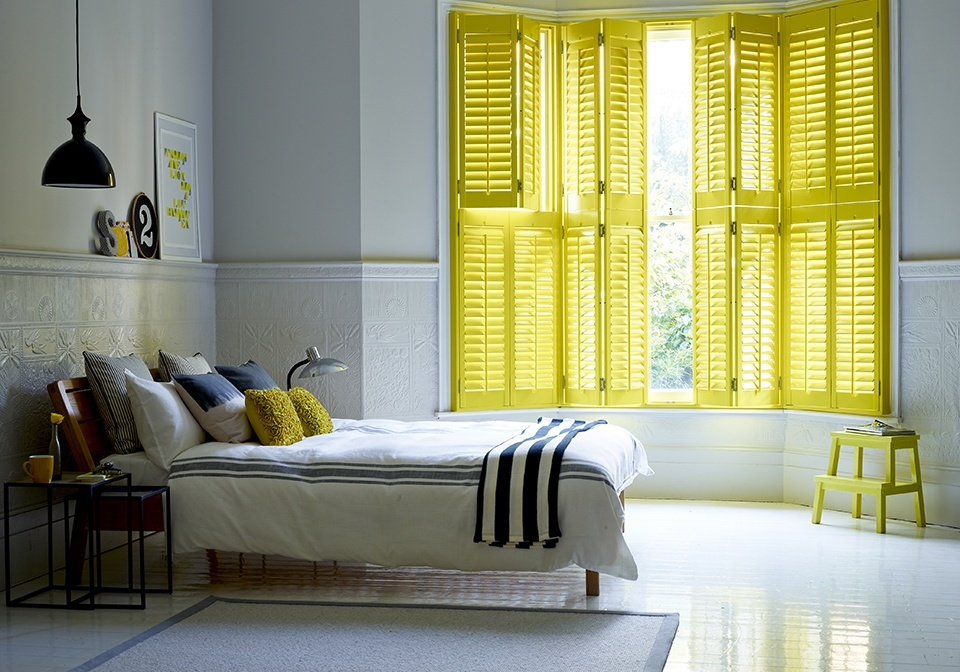 House shutters interior