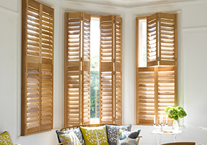 Shutters for windows diy plantation and solid wooden - Unfinished wood shutters interior ...
