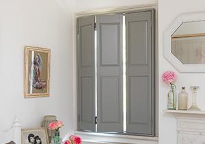 Interior Window Shutters Solid Panel